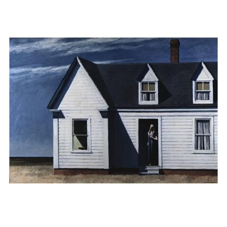 High Noon Print Wall Art By Edward Hopper ()