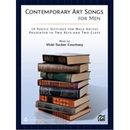 Image of Alfred 00-39855 CONTEMPORARY ART SONGS FOR MEN-BK