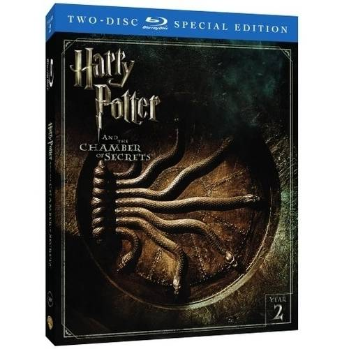 Harry Potter And The Chamber Of Secrets (2-Disc Special Edition) (Blu-ray) (Walmart Exclusive) (With INSTAWATCH))