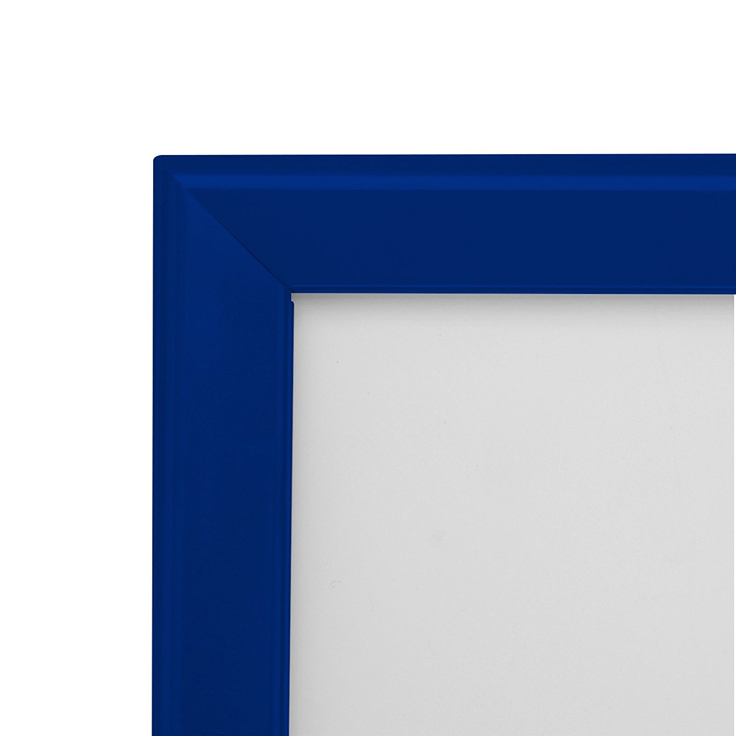 Blue Snapezo Poster Snap Frame 30 X 40 Professional Series Front