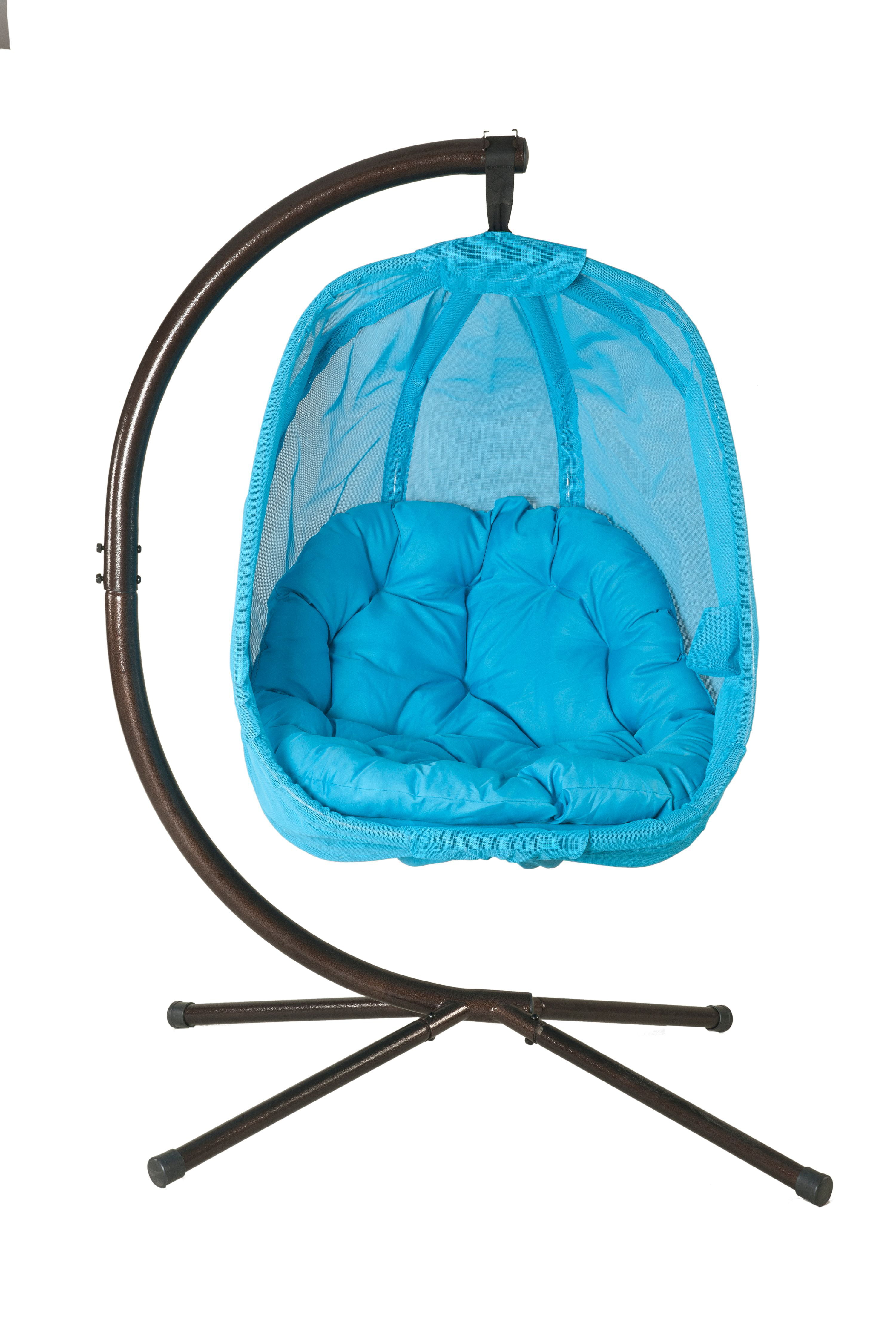 Flowerhouse Hanging Egg Chair W/Stand - Walmart.com ...