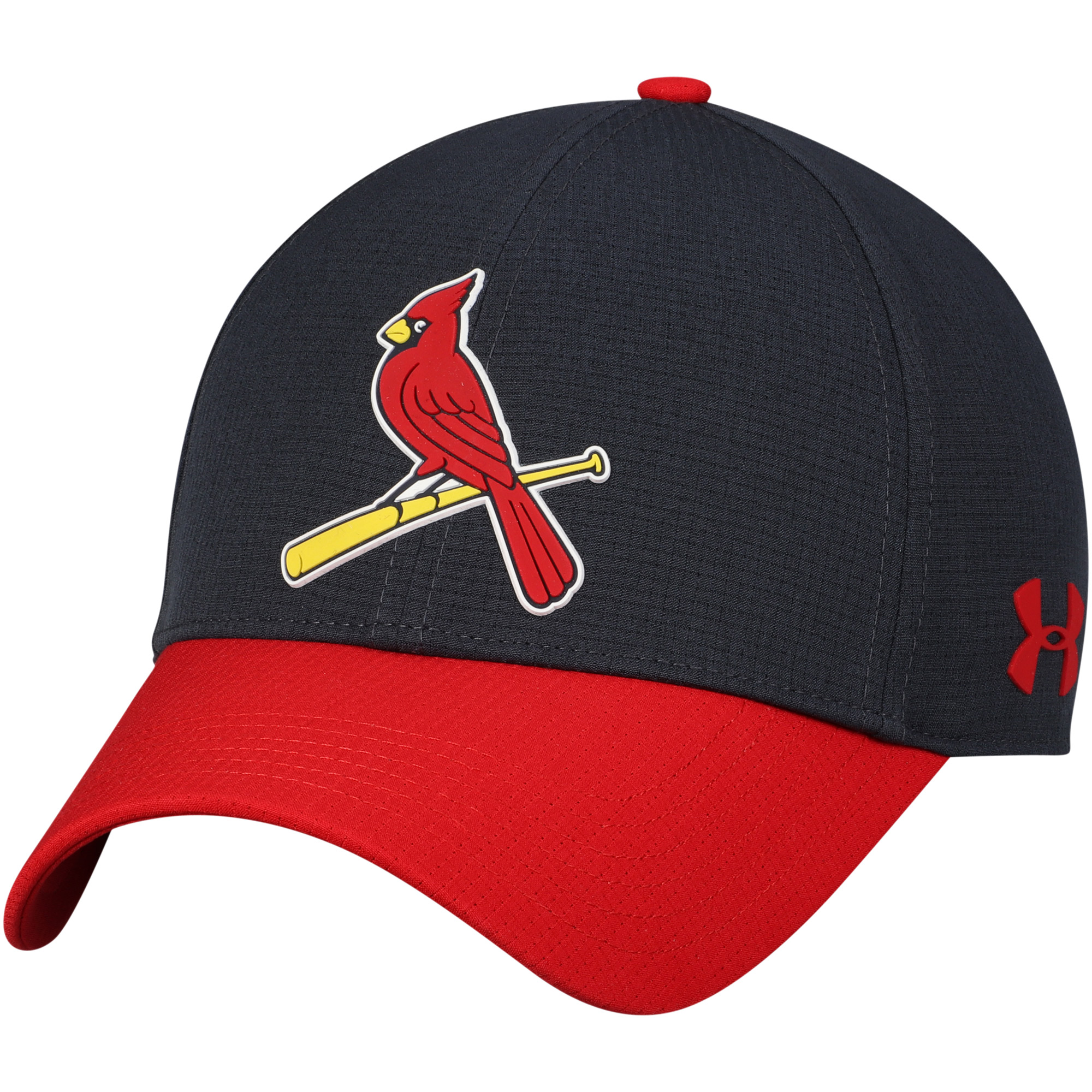 St. Louis Cardinals Under Armour MLB Driver Cap 2.0 Adjustable Hat - Navy - OSFA