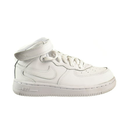 Nike Force 1 Mid  Td  Baby Toddlers Shoes White White White 314197 113