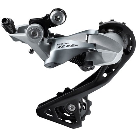 Shimano 105 RD-R7000-GS Rear Derailleur - 11 Speed, Medium Cage,
