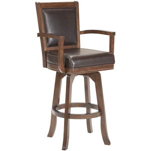 "Hillsdale Furniture Ambassador 46.5"" Swivel Bar Stool, Rich Cherry Finish by Hillsdale Furniture LLC"