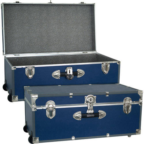 Seward Trunk 30-Inch Footlocker with Wheels