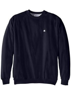 4033d80c Product Image champion men's big-tall fleece crew sweatshirt, navy, ...