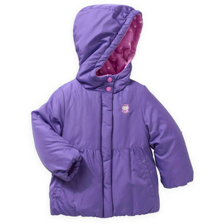 306658aac Child of Mine by Carter's - Baby Toddler Girl Solid Puffer Jacket ...