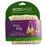 Eco-Bags Natural Cotton Long Handle String Bag