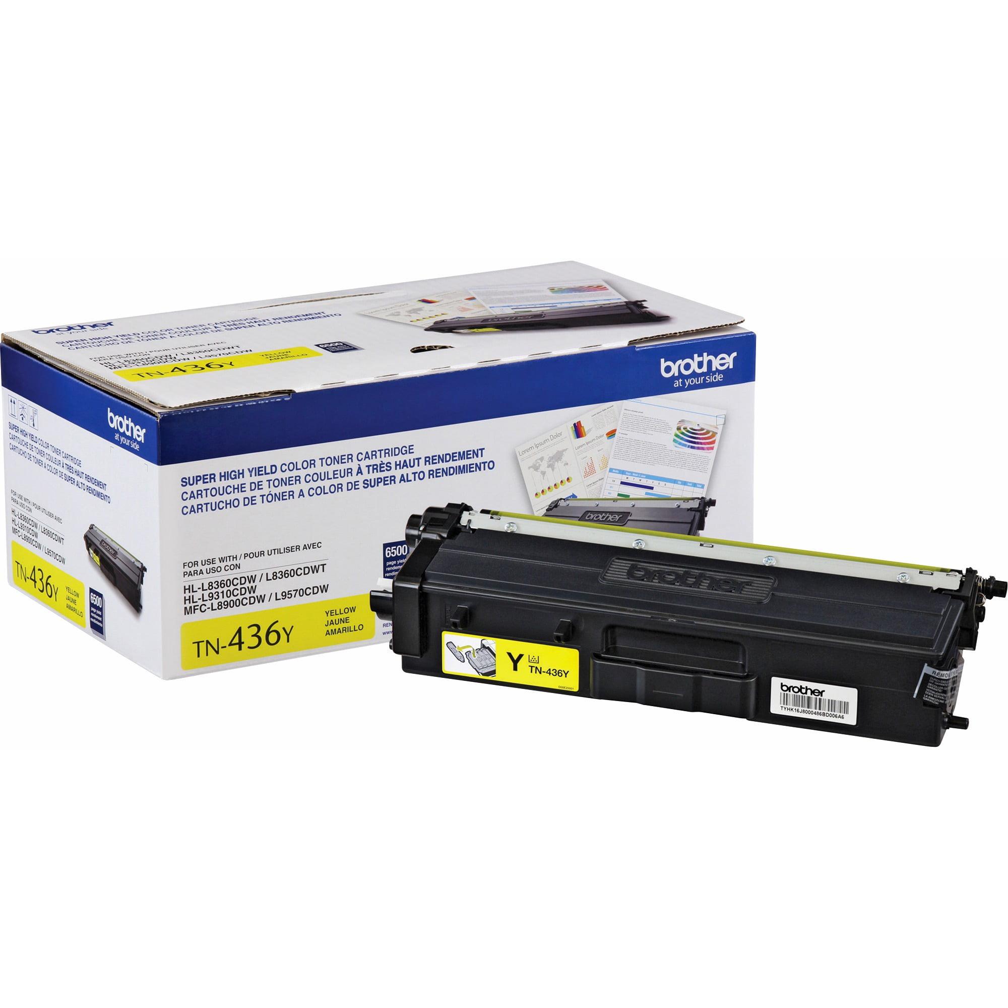 Brother, BRTTN436Y, TN436Y Toner Cartridge, 1 Each