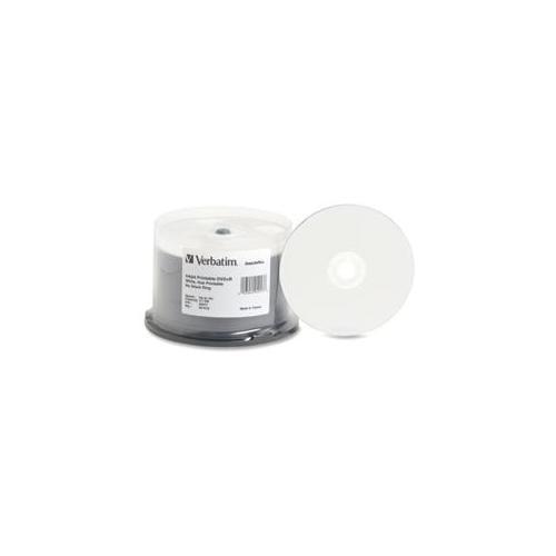 Verbatim Corporation Verbatim Corporation DVD+R, 16X Speed, 4. 7GB, Inkjet-Hub Printable, 50-PK
