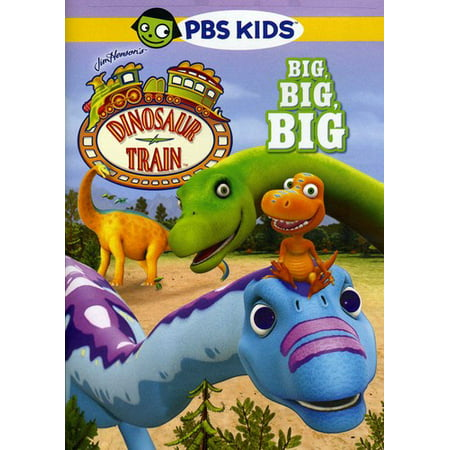 Dinosaur Train: Big, Big, Big (DVD) - Dinosaur Train Halloween Song
