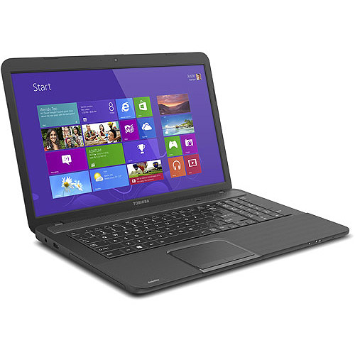 """Toshiba 17.3"""" Satellite C875D-S7330 Laptop PC with AMD A4-4300M Accelerated Processor and Windows 8"""