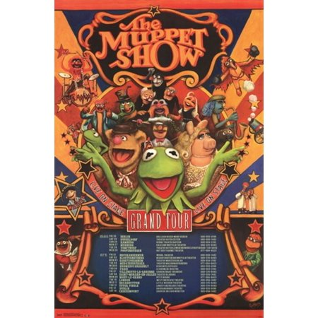 Muppets Most Wanted - Grand Tour Poster Print