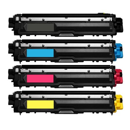 4 Pack New Compatible with Brother TN225BK TN225C TN225M TN225Y Toner Cartridge for Brother HL-3170CDW