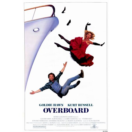 Overboard  1987  11X17 Movie Poster