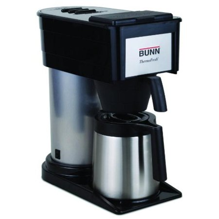 Bunn Bt Velocity Brew 10 Cup Thermal Carafe Home Coffee Brewer  Black