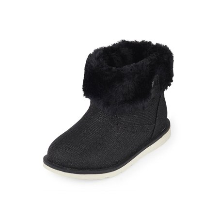 Kids The Children's Place Girls Fur Lined Fabric Ankle Pull On Snow Boots Have your little one in style with shoes from The Childrens Place. Enjoy cute shoes at a value price. . Buy with confidence!