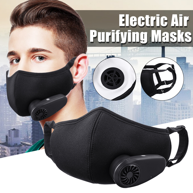 smart electric n95 air purifying respirators dust mask