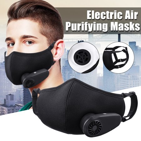 Outdoor Anti Dust Fresh Air Supply Smart Electric Face Masks Air Purifying N95 Anti Dust (Best Dust Mask For Yard Work)