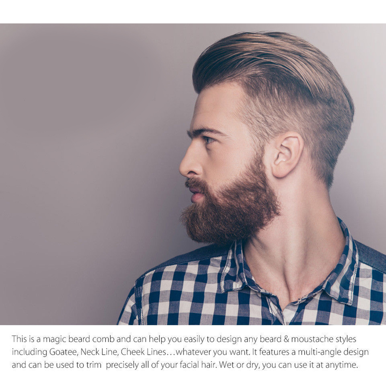 Xdeer Beard Shaping Tool Template Xdeer Beard Shaper Guide For Line
