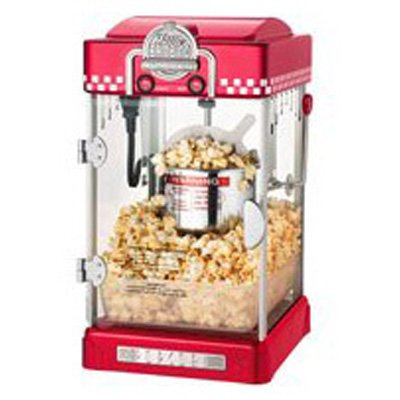 Great Northern Popcorn 6073 Red Little Bambino Retro Style Popper