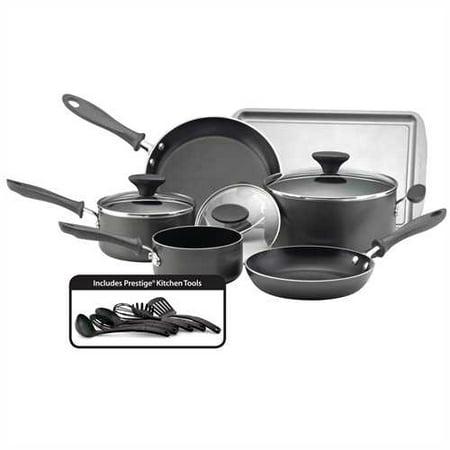 Farberware Reliance 15pc Cookware Set Black