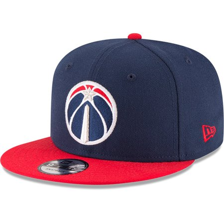 Washington Wizards New Era 2-Tone 9FIFTY Adjustable Snapback Hat - Navy/Red - OSFA
