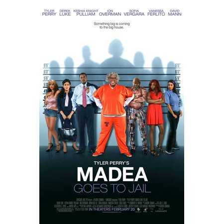 Madea Goes to Jail POSTER Movie F Mini Promo for $<!---->