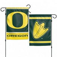 "WinCraft Oregon Ducks 12""x18"" Garden Flag - Green"