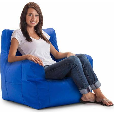 Big Joe SmartMax Duo Bean Bag Chair, Multiple Colors Blue Bean Bag Chair