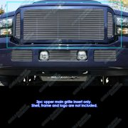 Compatible with 05-07 Ford F250 F350 F450 F550 Main Upper Billet Grille Insert F86622A