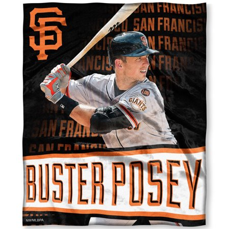 - Buster Posey San Francisco Giants The Northwest Company 50'' x 60'' Silk Touch Players Throw - No Size