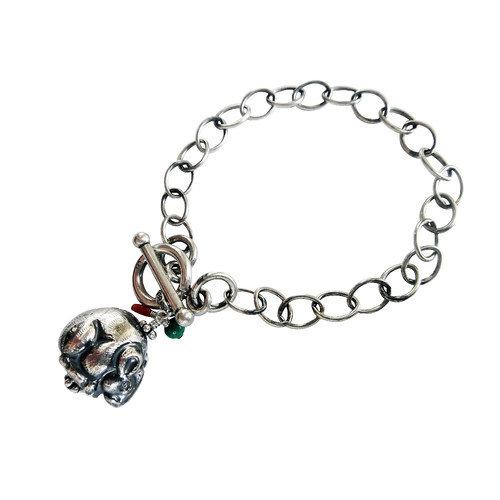 Vivian Yang Mouse Gemstone Charm Bracelet