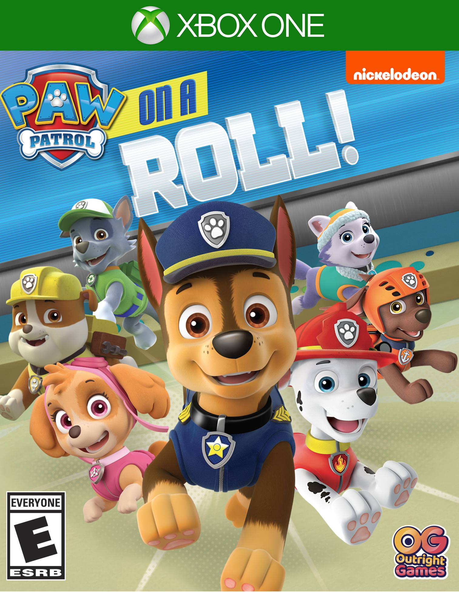Paw Patrol On a Roll, Xbox One, Outright Games, 819338020198