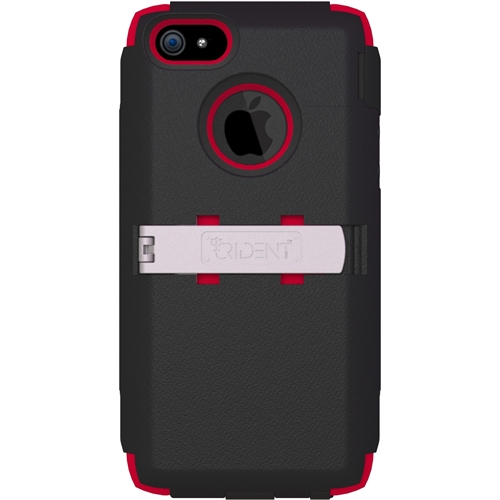 Trident Kraken AMS Case for Apple iPhone 5 (Black/Red)