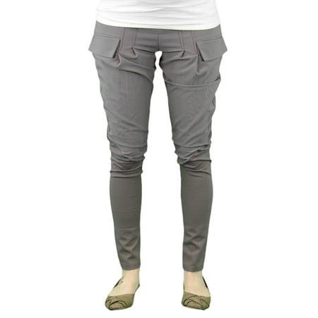 9 FASHION Maternity Buny Cappuccino Straight Leg Dress Pants Sz S](Cappuccino Baby)