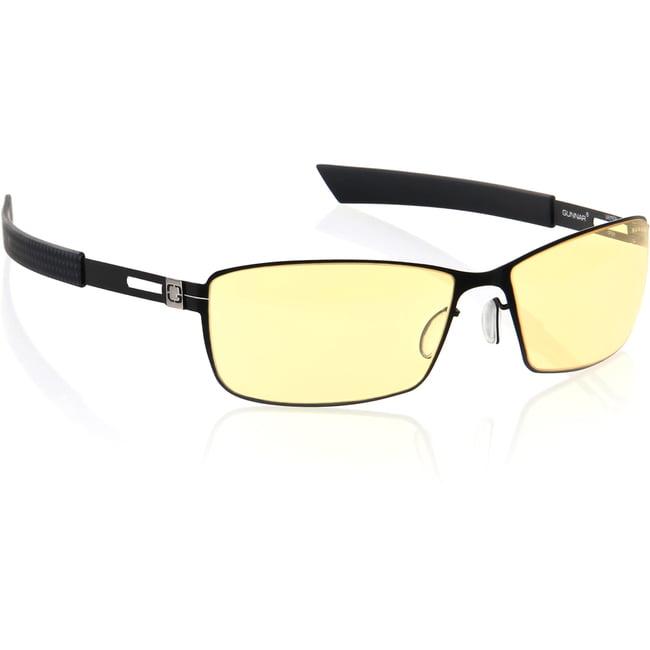 Gunnar Optics Vayper Gaming Eyewear - Onyx Frame w/ Amber Lens