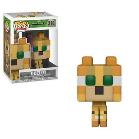 Funko POP Games Minecraft - Ocelot - Vinyl Figure (Best Way To Pvp In Minecraft)