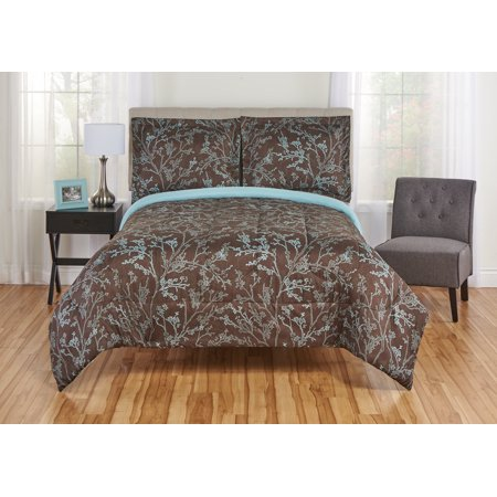 Toile King Comforter - Mainstays Silhouette Toile Comforter and Sham Bedding Set, Multiple Sizes