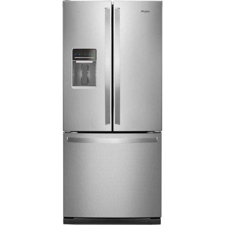 Whirlpool WRF560SEHZ 20 Cu. ft. Freestanding French Door Refrigerator