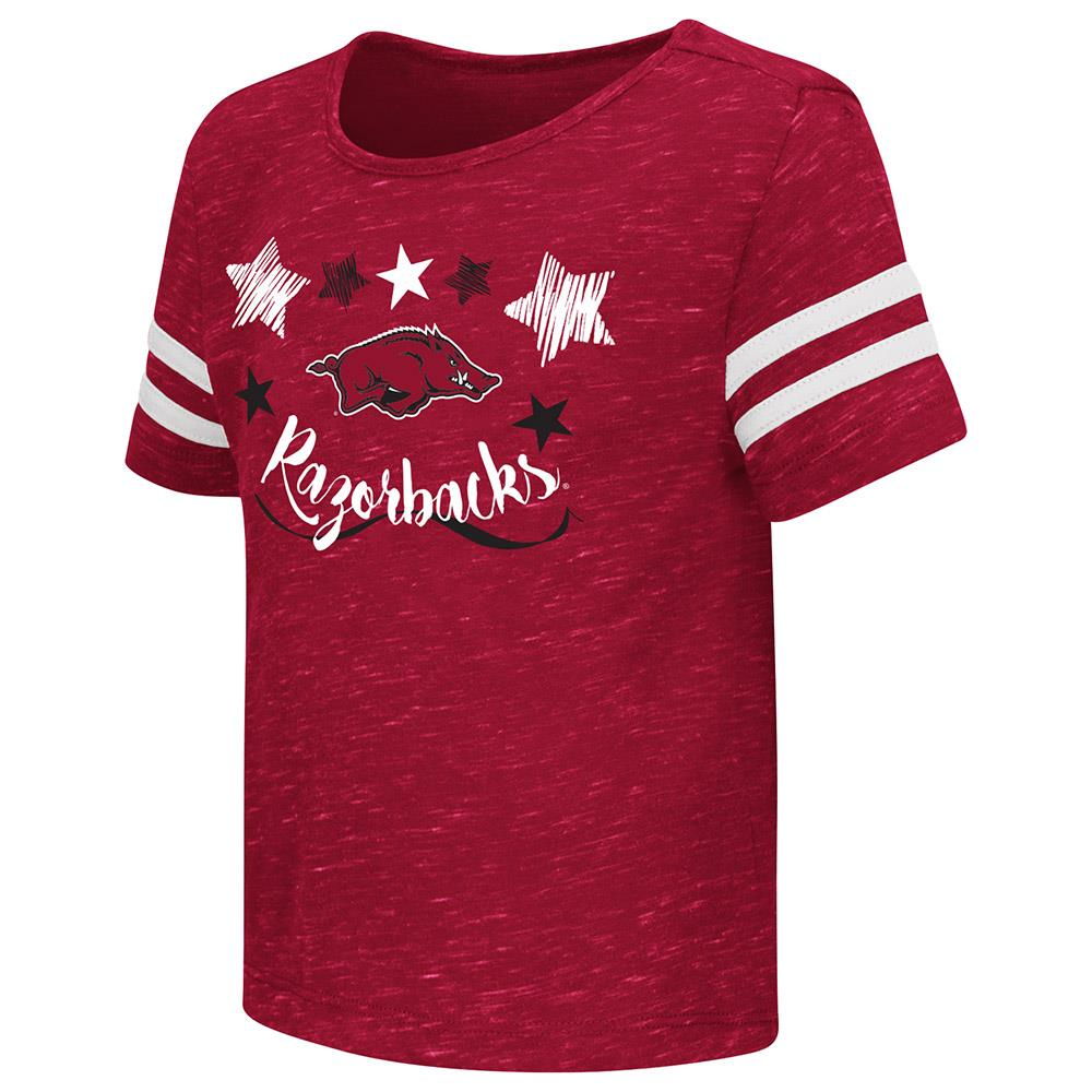 Toddler Arkansas Razorbacks Short Sleeve Tee Shirt