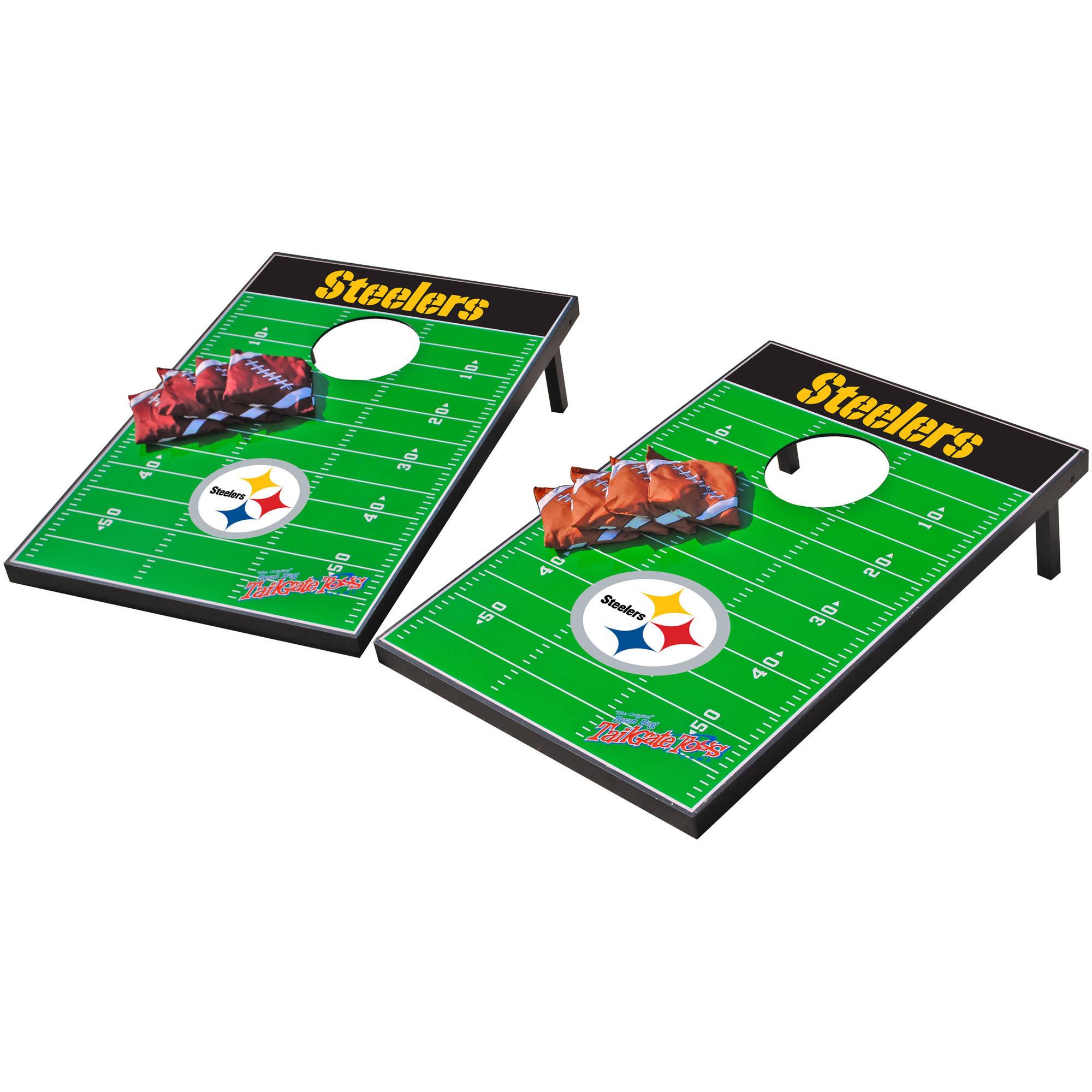 Wild Sports NFL Pittsburgh Steelers 2x3 Field Tailgate Toss