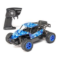 Adventure Force Metal Racer Radio Controlled Vehicle, Blue Camo