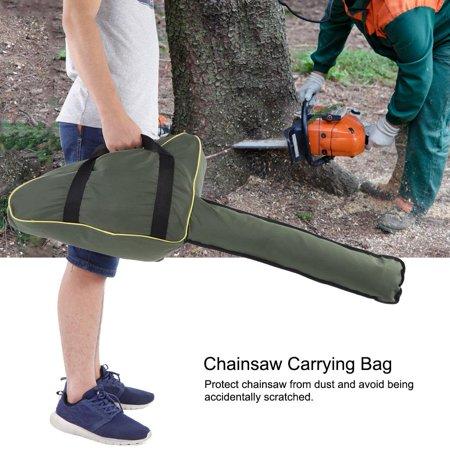 OTVIAP Chainsaw Case Bag, Chain Saw Bag,Portable Oxford Cloth Chainsaw Storage Bag Lawn Mower Carry Case Protective Box