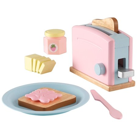 Pastel Toaster Playset, Available in three styles: Espresso, Pastel, Red & White By KidKraft