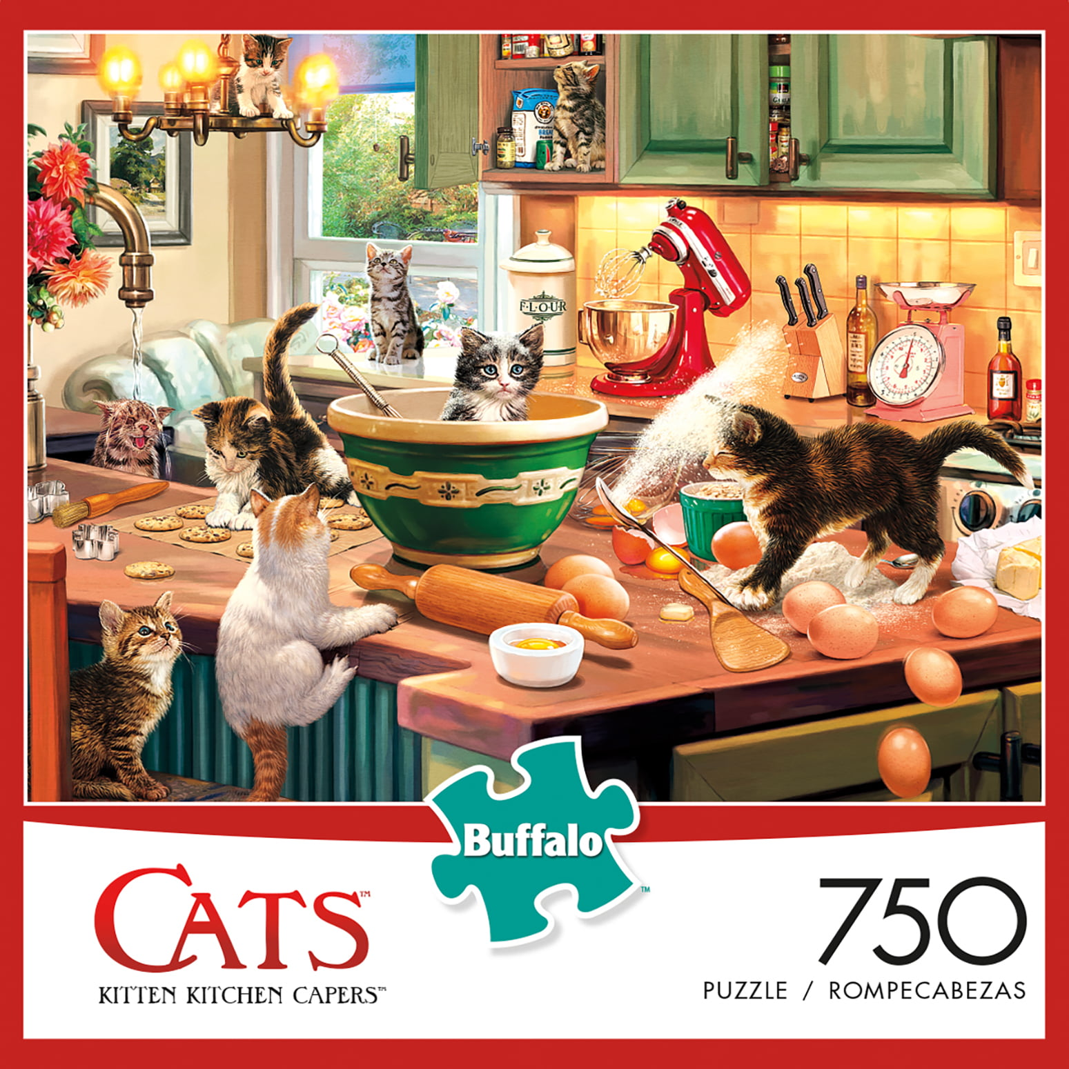 2000 Piece Buffalo Games Sweet Shop Puzzle