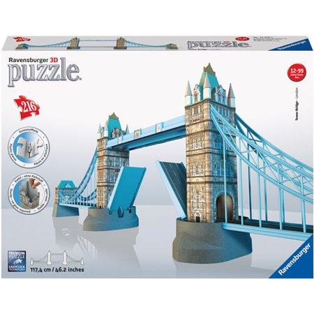 Ravensburger Tower Bridge 3D Building Puzzle, 216 Pieces