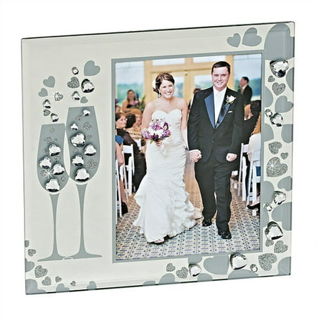 Chalice Center - Creative Gifts International Sparkling Goblets Picture Frame