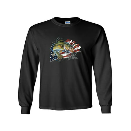 Pursuit of Happiness Bass Fishing Long Sleeve